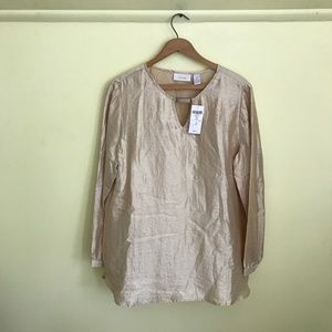 CHICO'S | NWT Golden Blouse